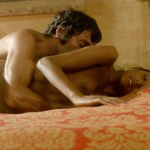 Laura Gemser Naked Bush and Tits in Sex Scene from 'Emanuelle and the Last Cannibals'