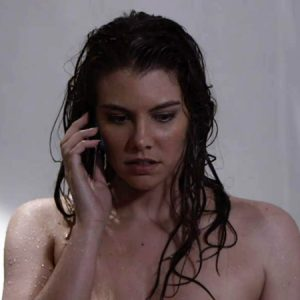 Lauren Cohan Naked Showering Scene From 'Death Race 2'