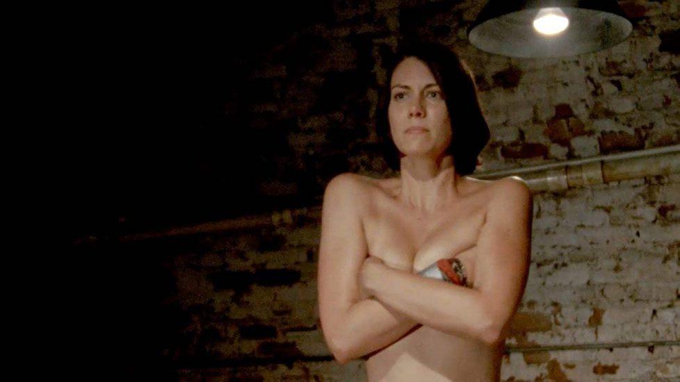 Lauren Cohan Nude, LEAKED Sex Tape PORN Video & Topless Scenes 11