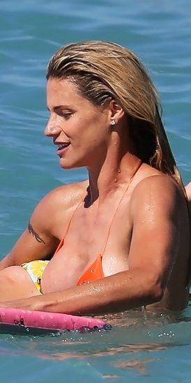 Michelle Hunziker NUDE & Topless Pics And Sex Scene 24