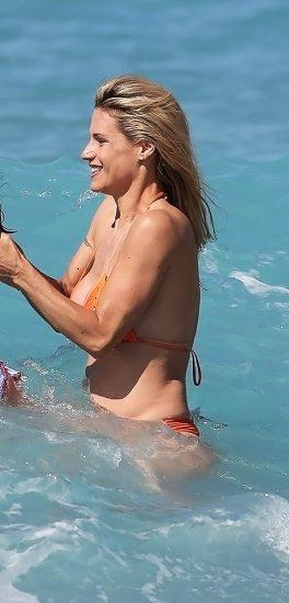 Michelle Hunziker NUDE & Topless Pics And Sex Scene 20