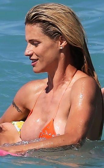 Michelle Hunziker NUDE & Topless Pics And Sex Scene 19