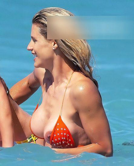 Michelle Hunziker NUDE & Topless Pics And Sex Scene 12
