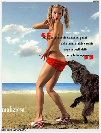Michelle Hunziker NUDE & Topless Pics And Sex Scene 7