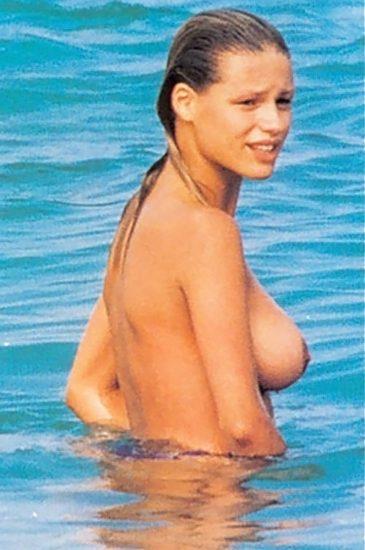 nude Michelle Hunziker big tits