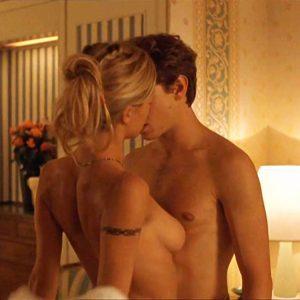 Michelle Hunziker Nude Sex Scene in 'Voglio Stare Sotto Al Letto'