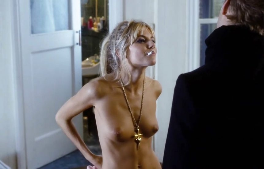 Sienna Miller Topless In Alfie Movie
