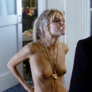 Sienna Miller Topless In Alfie Movie