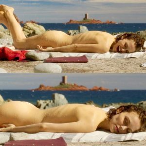 Naked Natalie Portman Ass Scene from 'Planetarium'