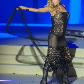 Carmen Electra nude see-throught