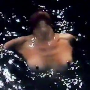 erected nipples in water