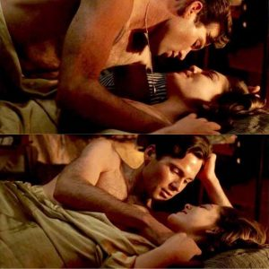 Alexa Davalos Tits in Romantic Scene from 'And Starring Pancho Villaas Himself'