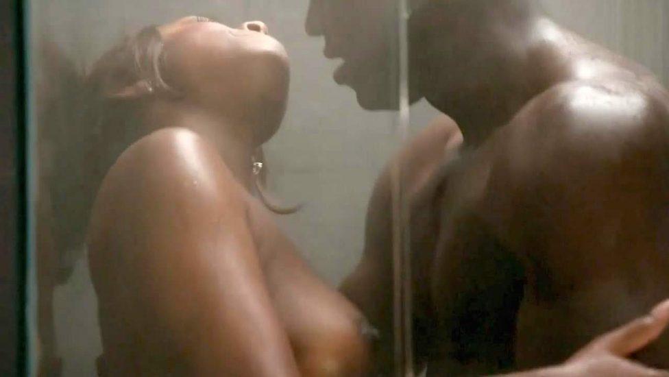 Naturi Naughton naked shower sex
