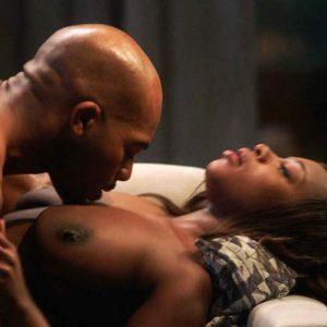 Naturi Naughton & Lela Loren Nude Mixed Sex Scene 'Power' Season 5