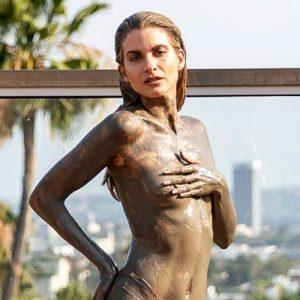 Rachel McCord Topless in Mud Photo Shooting