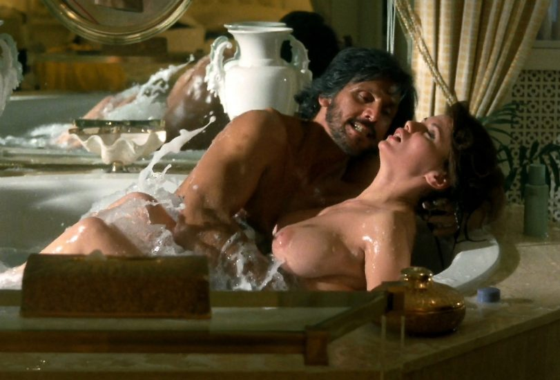 Serena Grandi Sex In A Bubble Bath In Delirium Movie