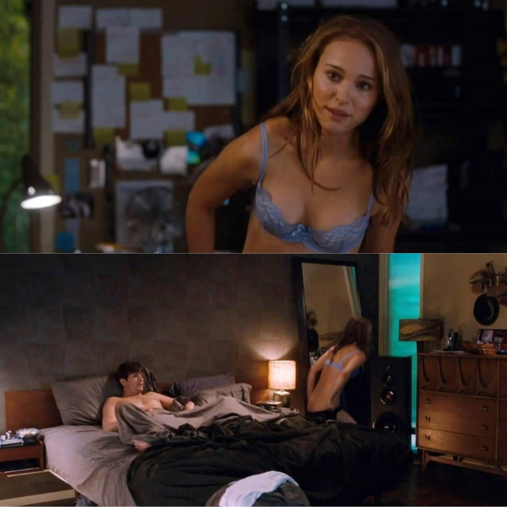 No strings attached scene