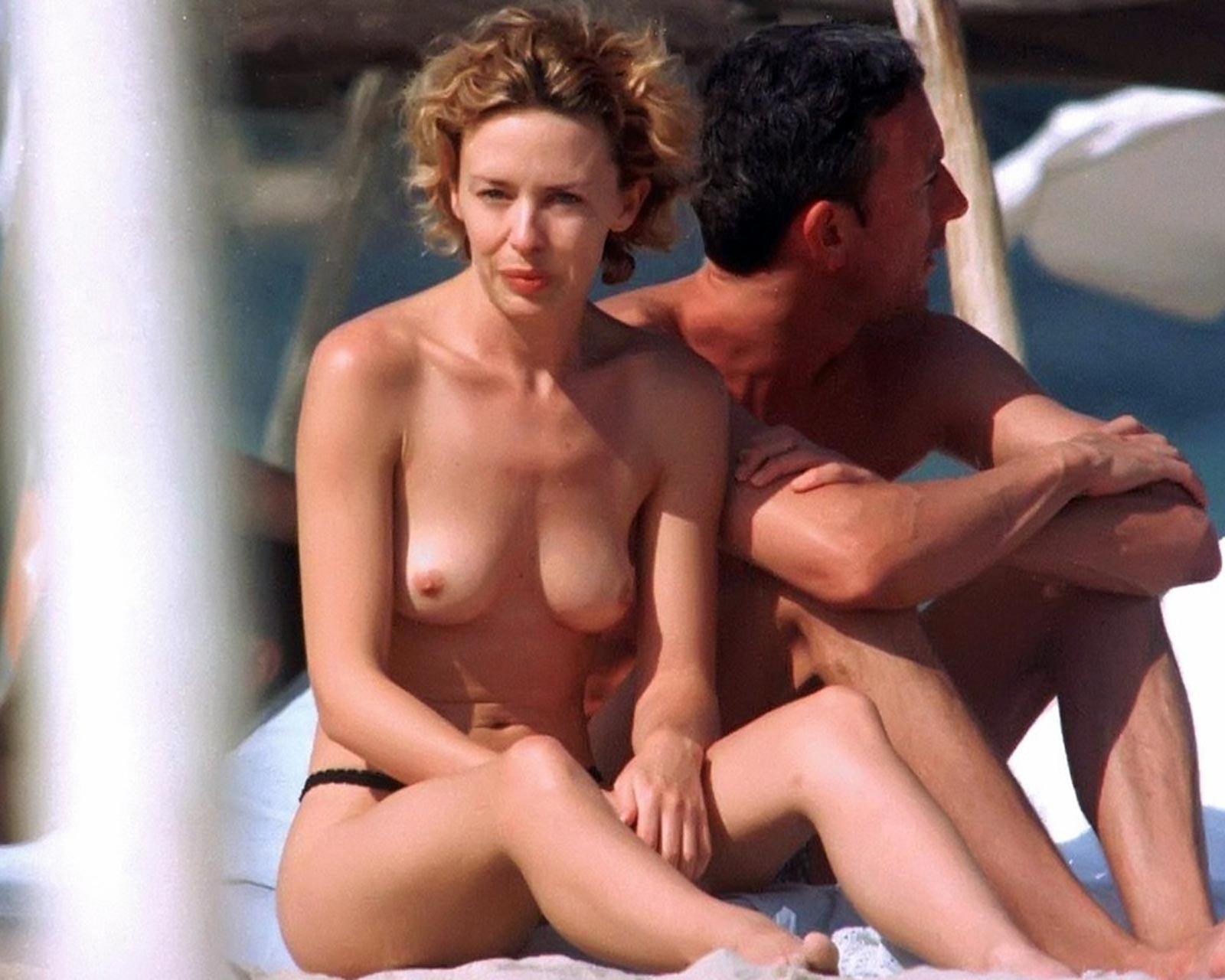 Kylie Minogue Nackt