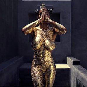 Teyana Taylor naked dancing