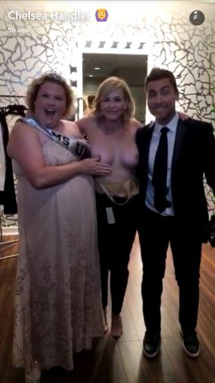 chelsea handler showing tits