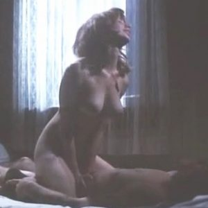 Rosanna Arquette Rides A Guy In The Executioners Song Movie