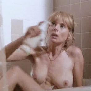 Rosanna Arquette Nude Boobs And Pokey Nipples In Voodoo Dawn Movie