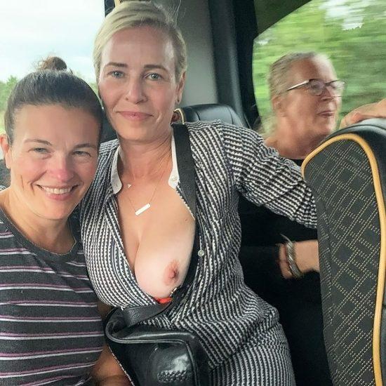 chelsea handler naked tits