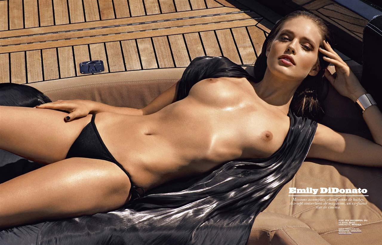 in bikini Topless Emily Didonato naked photo 2017
