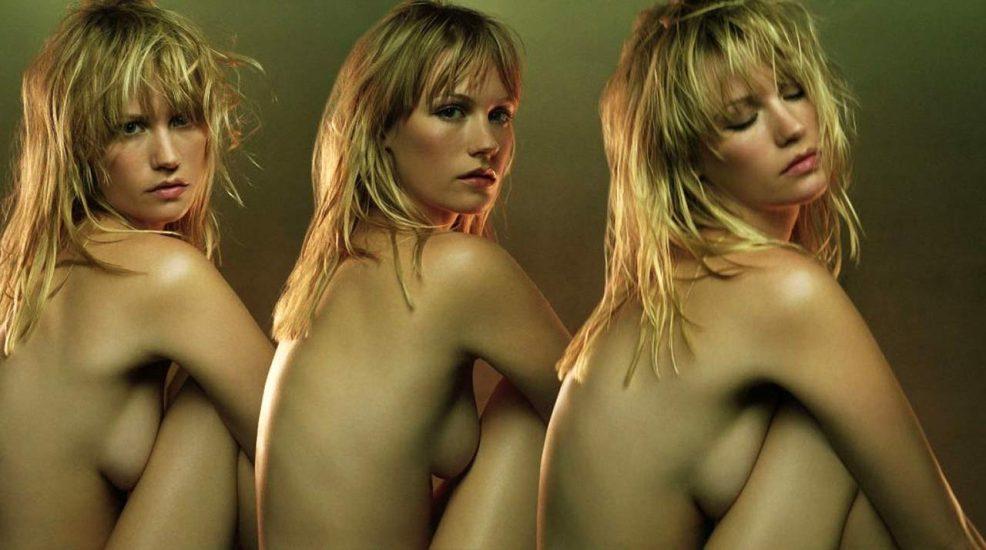 January Jones Nude Pics & LEAKED Porn + Topless Scenes 3