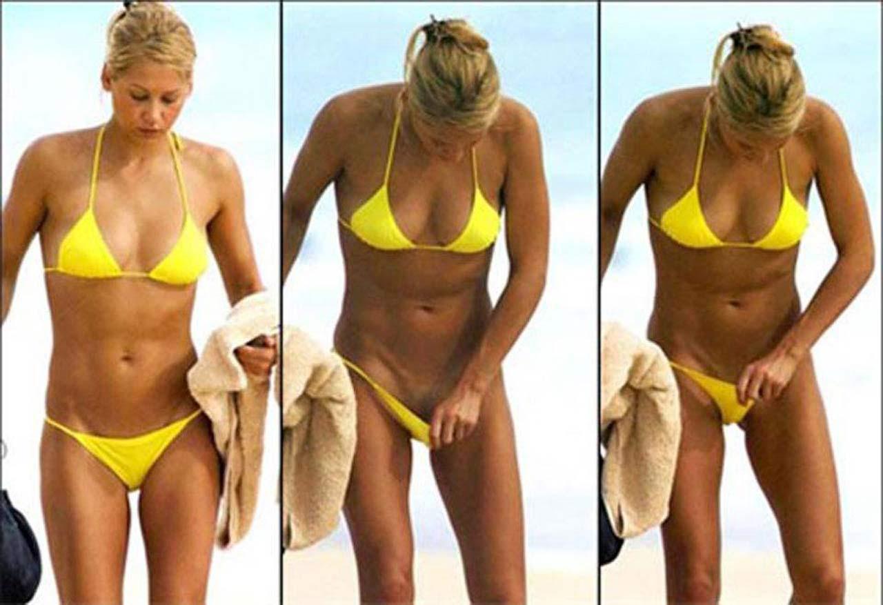 Aurora recommends Eliza taylor cotter black bikini