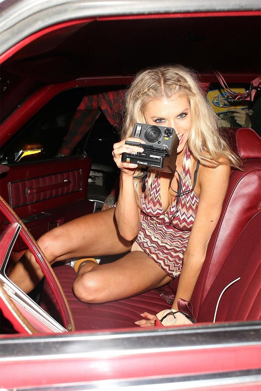 Charlotte mckinney pussy was specially