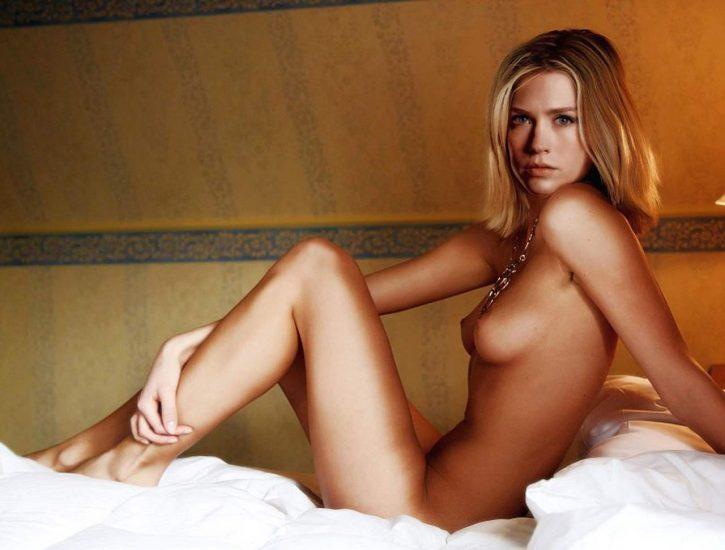 January Jones Nude Pics & LEAKED Porn + Topless Scenes 4