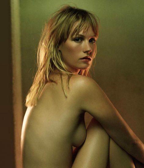 January Jones Nude Pics & LEAKED Porn + Topless Scenes 14