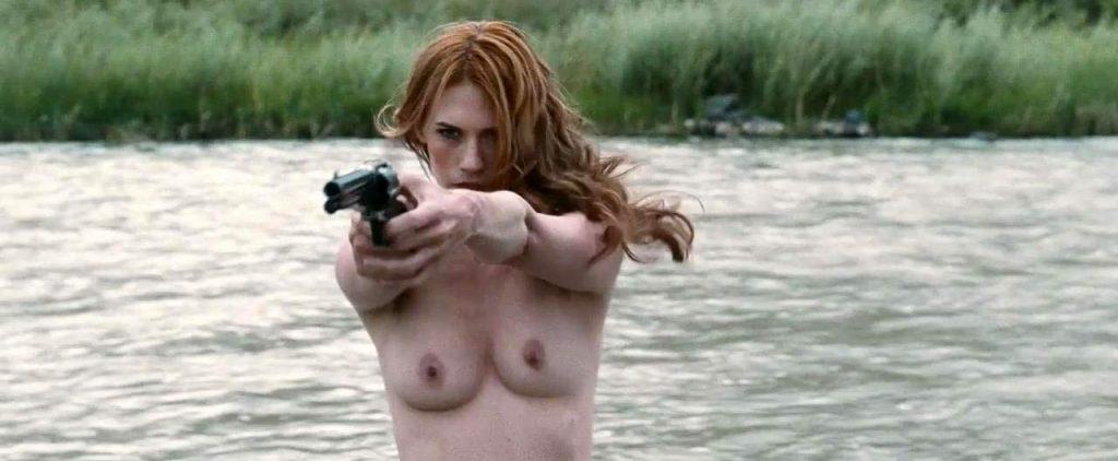 January Jones Nude Pics & LEAKED Porn + Topless Scenes 16