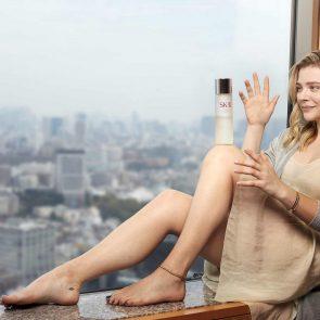 Chloe Grace Moretz bare feet