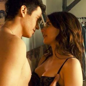 Emma Roberts Sexy Lingerie Scene from 'Little Italy'