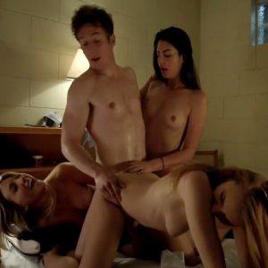 Maria Breese And Jocelin Albor Nude Group Sex Scene In Shameless Series