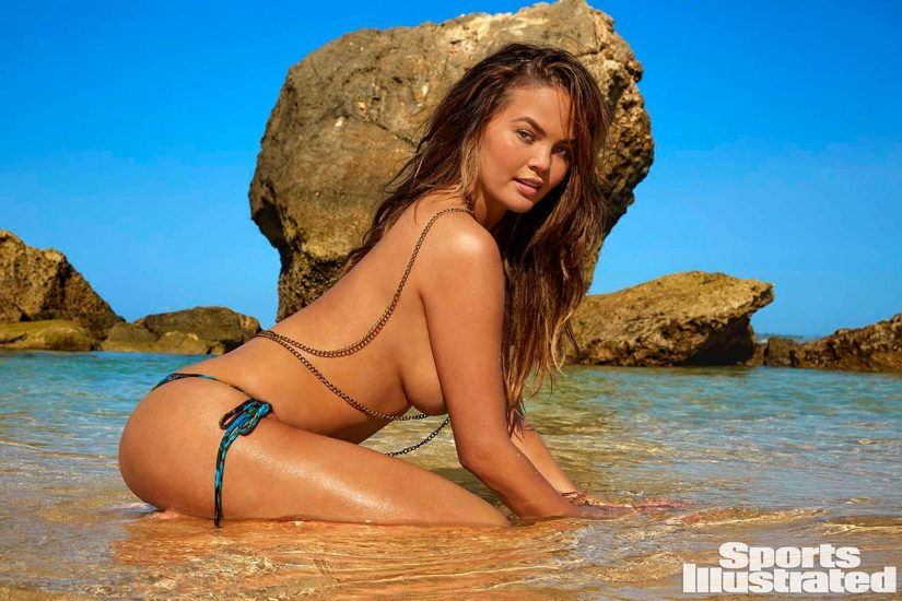 Chrissy Teigen topless for sports illustrated