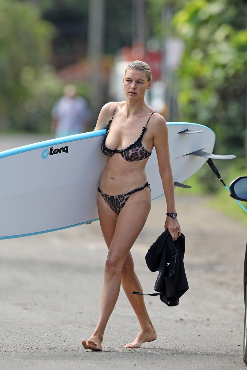 Bikini photo scandal