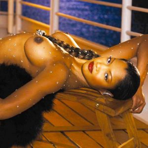 Garcelle Beauvais Naked Playboy Photo Shooting