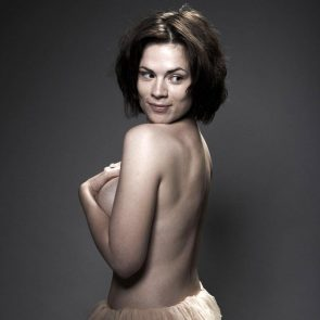 Hayley Atwell hot topless pic