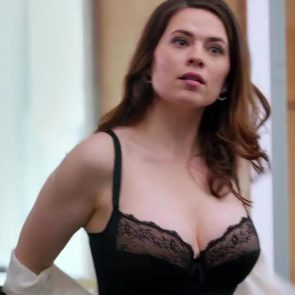 Hayley Atwell hot lingerie