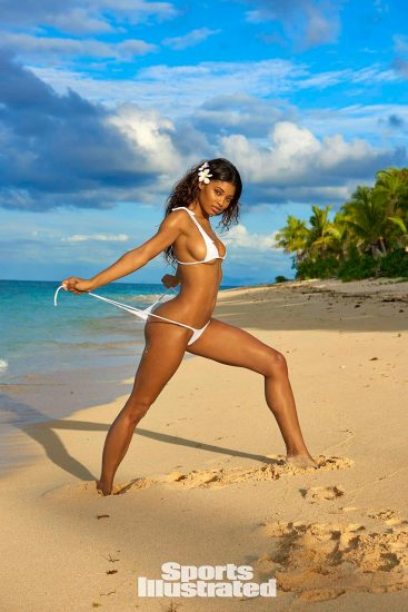 Danielle Herrington NUDE & Topless Pics for Sports Illustrated 49