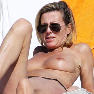 Claire Chazal Nude Saggy Tits With Young Boyfriend !