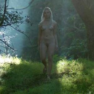 Ida Nielsen Nude Pussy Scene from 'Vikings'