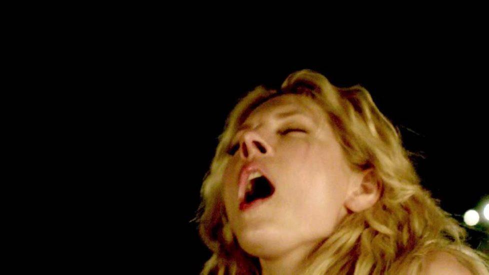 Katheryn Winnick hot moaning face