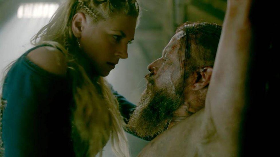 Katheryn Winnick sex scene with tied man