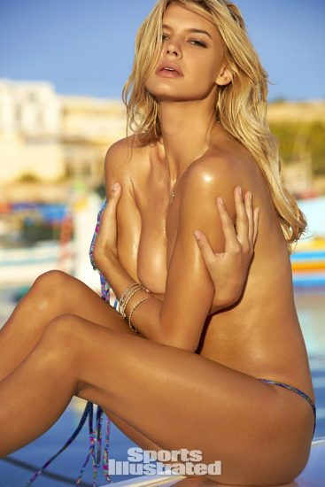 Kelly Rohrbach nude covered tits