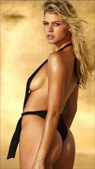 Kelly Rohrbach black swimsuit