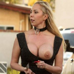 Mary Carey Tits Flashed on the Gas Station